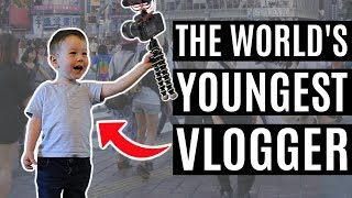THE WORLD'S YOUNGEST VLOGGER | Luca Intro Compilation pt. 2