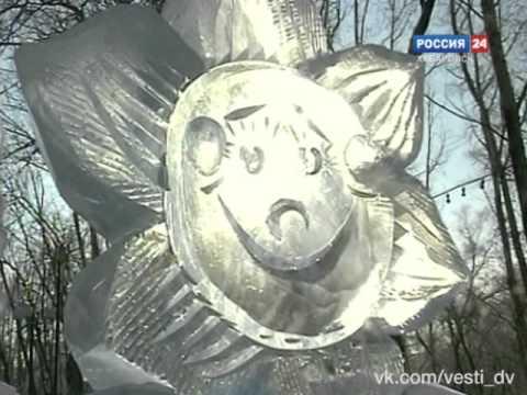 Вести Деда Мороза. Снежные и ледовые скульптуры