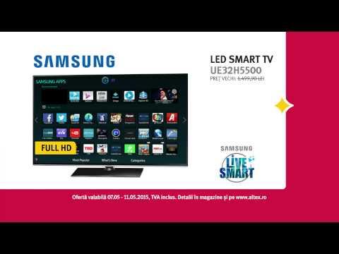 Reclamă ALTEX TV Samsung Mai 2015