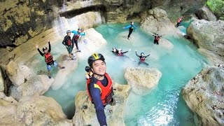 Downstream Canyoneering from Kanlaob River to Kawasan Falls.
