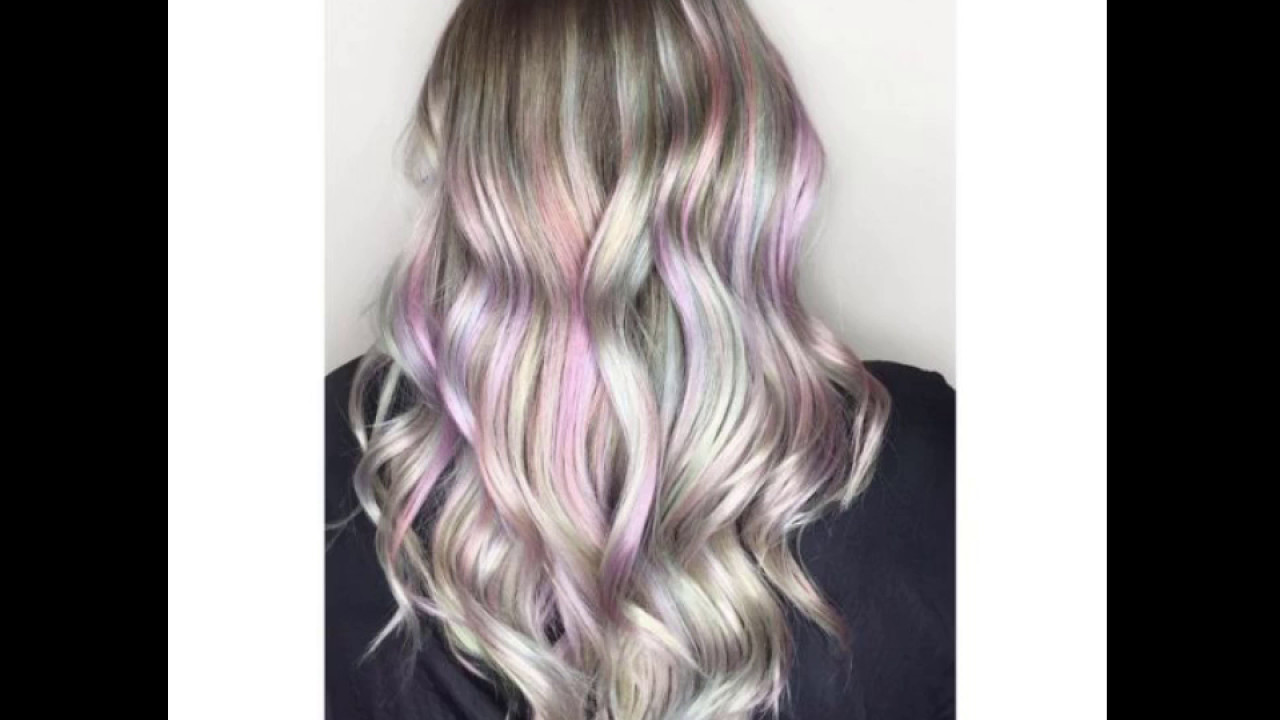 Mother of Pearl Hair Is Instagrams Latest Hair Color Trend  YouTube