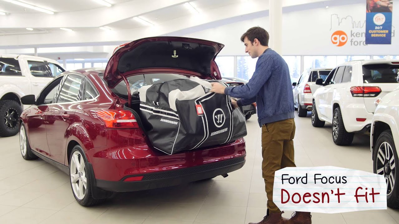 Does Your Hockey Bag Fit In These Cars Goalie Bag Edition Youtube