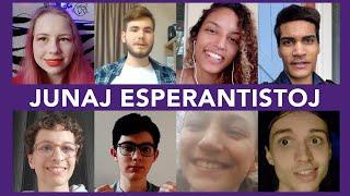 Ekkonu 8 junajn esperantistojn!