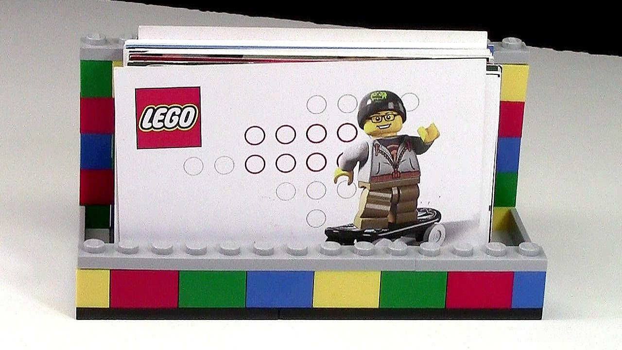 How to make a business card holder from lego youtube reheart Gallery