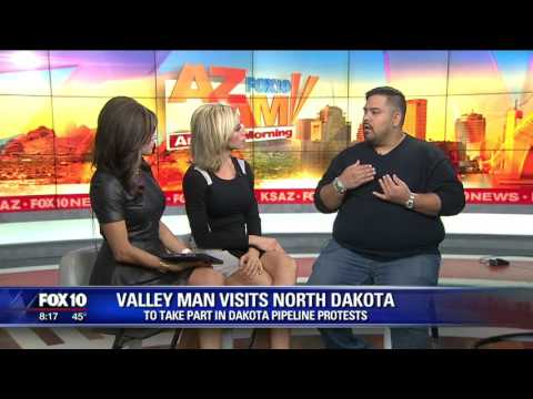Valley  man talks about his experience at the North Dakota pipeline protest