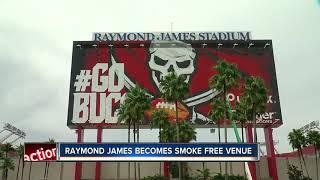 Raymond James Stadium becomes smoke and tobacco-free venue