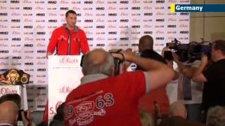 Ukraine's world heavyweight champ Vladimir Klitschko promises exciting fight against Leapai