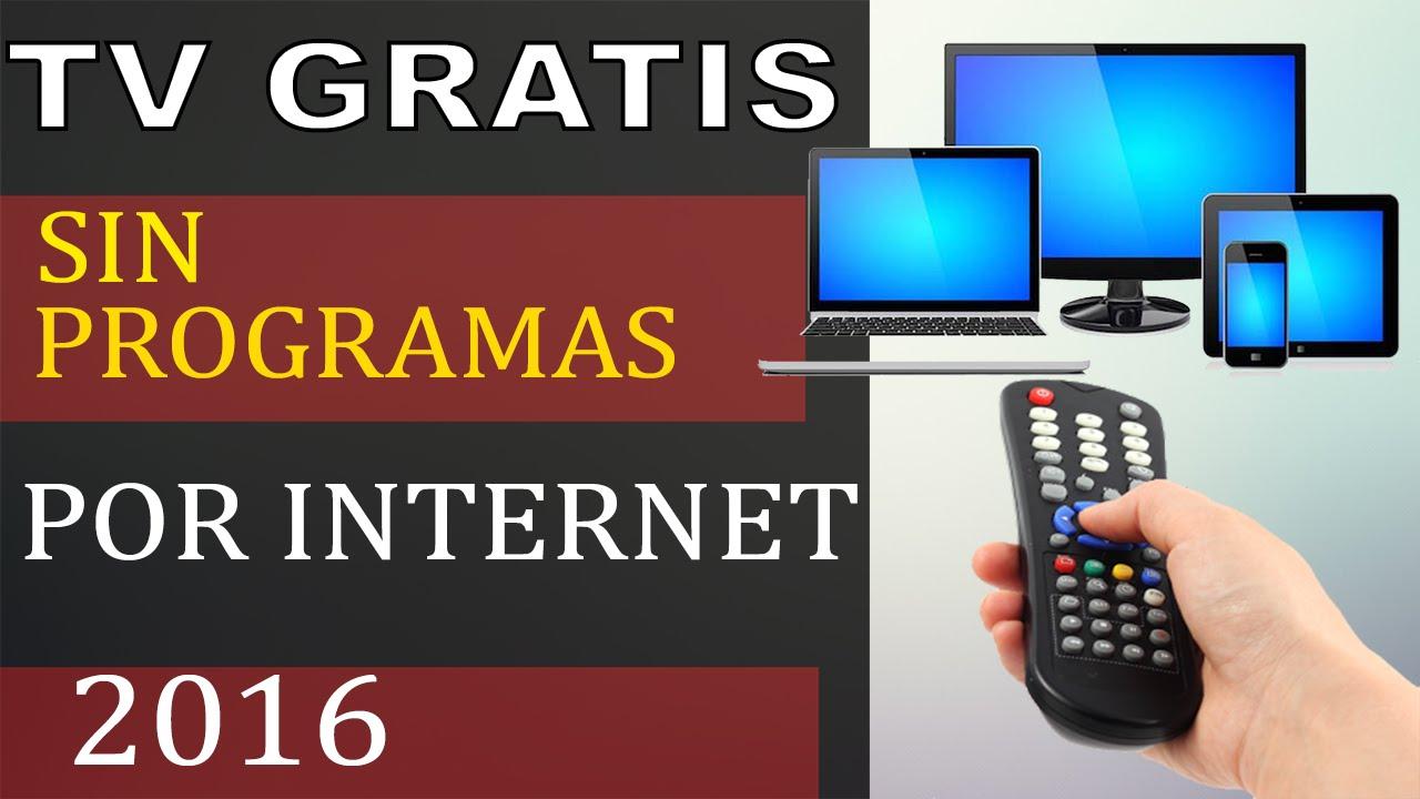 canales gratis en internet