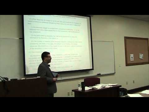 Review of Civil Procedure MBE topics, Multistate Bar Exam, Part II (Prof. Nathenson, Nov. 2014)