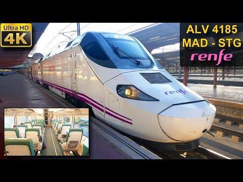 VIAJE EN TREN | Madrid - Santiago | Clase Preferente | RENFE ALVIA GALICIA