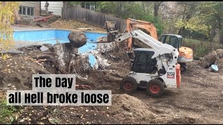 The Day I Broke My Excavator and All Hell broke loose