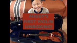 Stringworks - 3/4 Crescendo Violin Unboxing