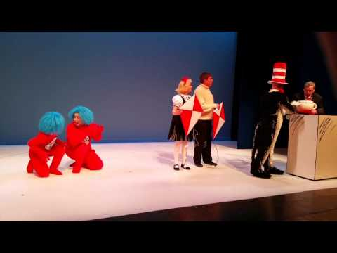 Children's Theatre Production of The Cat in the Hat with Thing 1 and Thing 2