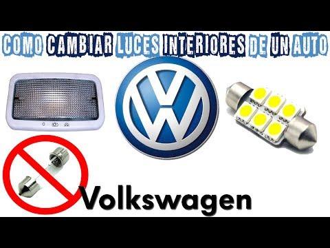 COMO CAMBIAR LUCES INTERIORES DE UN AUTO (VOLKSWAGEN POLO) -Agustin Costanzia
