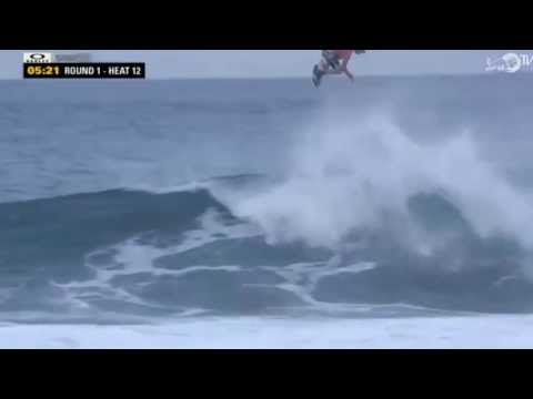 John John Florence lands THE BIGGEST AIR IN SURFING HISTORY!!!
