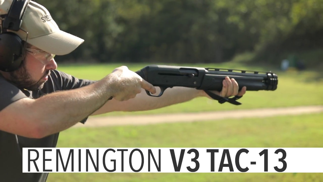 At the Range: Remington V3 TAC-13