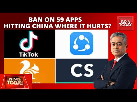 Ban On 59 Chinese Apps: Hitting China Where it Hurts? | News Today With Rajdeep Sardesai