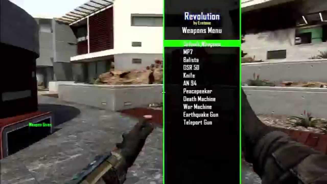 [BO2/1 19] Revolution GSC Mod Menu + Download