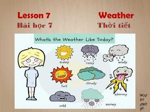 Tự học tiếng Anh cấp tốc lesson 7