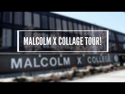 MALCOLM X COLLAGE TOUR!
