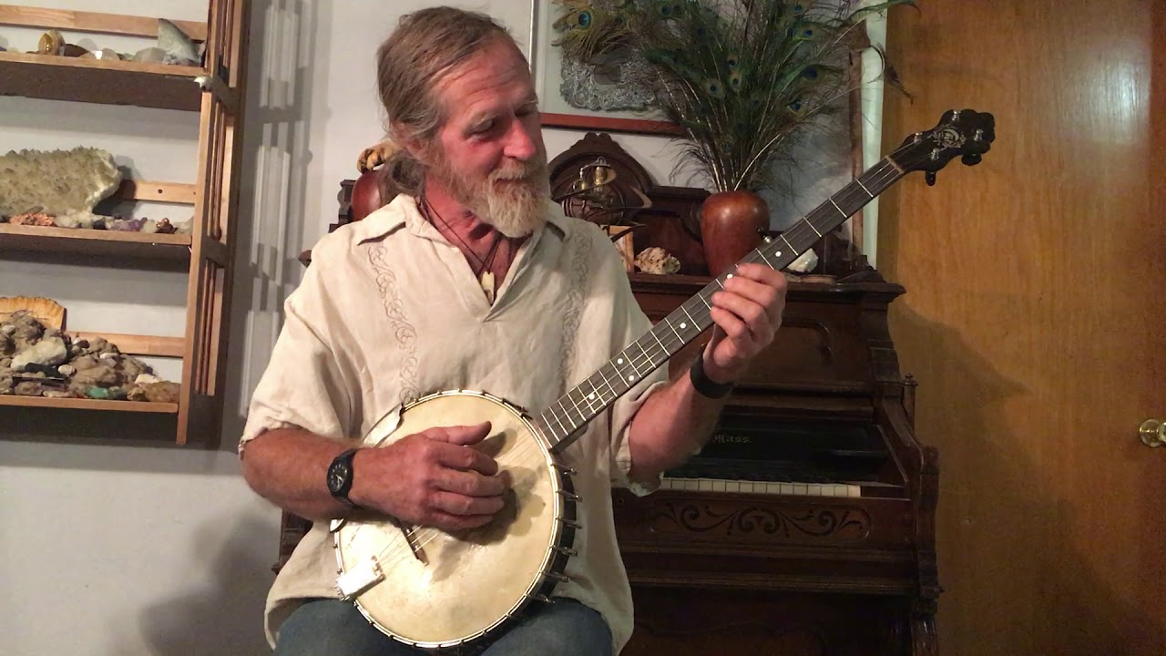 A a farland black beauty banjo #12