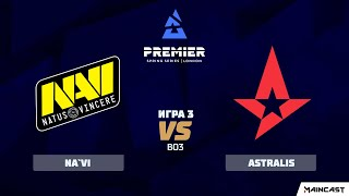 Natus Vincere vs Astralis [Map 3, Inferno] (Best of 3) BLAST Premier: Spring 2020