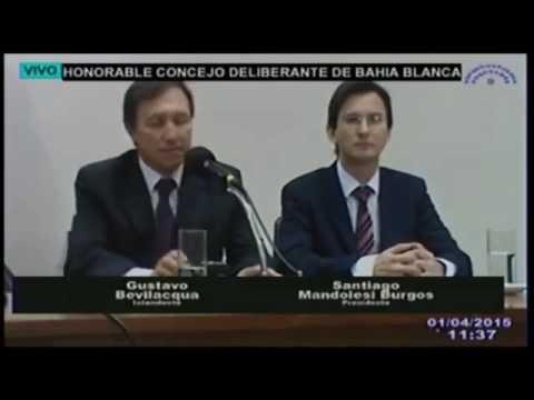 Insultan a intendente bahiense, Gustavo Bevilacqua