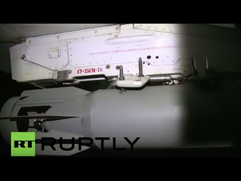 Syria: Russian Su-25 fighter jets leave Latakia airbase for mission