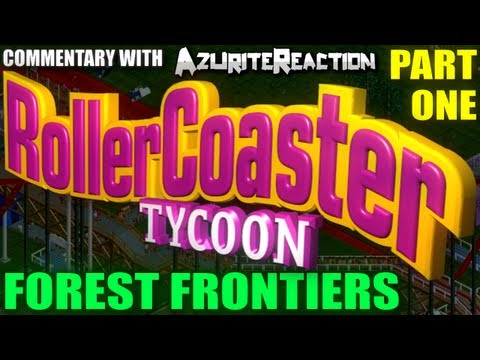 NOOB GUIDE - Rollercoaster Tycoon - (Forest Frontiers Part 1)  