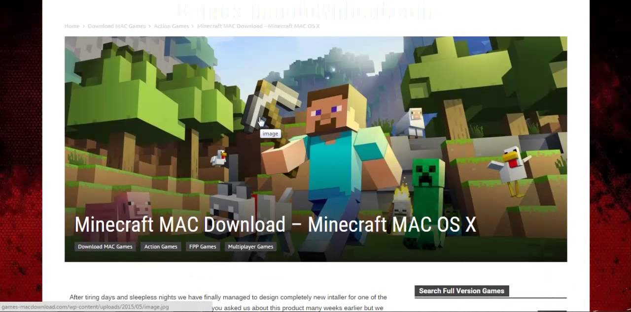Download minecraft 1. 6. 1 for mac os x – ppc support dropped.