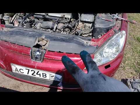 Как заменить стартер на пежо 307 2 0 бензин АКПП