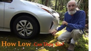 Car Camping Ground Clearance Prius And Other Low Clearance Cars