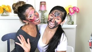 Mixed Up Makeup Challenge Tag with Laura Lee!