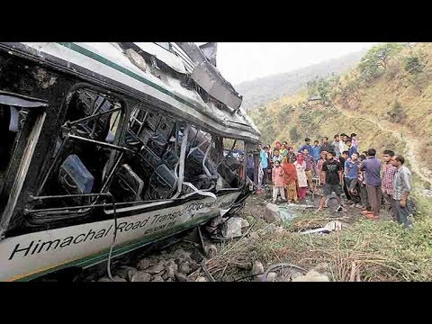 Over 30 dead as two buses hit by massive landslides in Himachal Pradesh