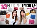 ENTIRE DESIGNER MINI HANDBAG COLLECTION! 33 LUXURY BAGS 😱 | Collab with LVLoverCC