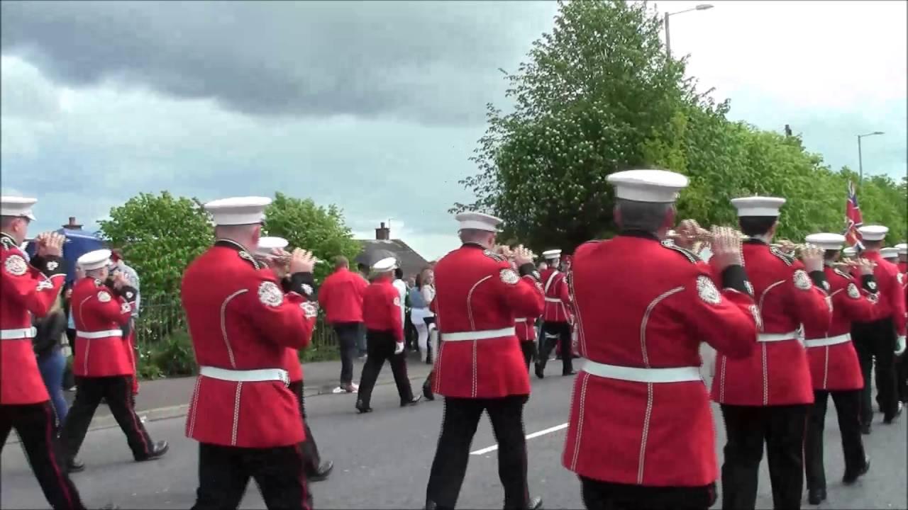 Ass Parade Images shankill star @ 36th ulster regimental bands ass parade 2016