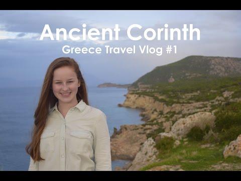 Ancient Corinth - Greece Vlog #1