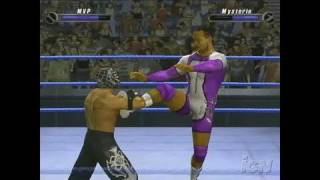 WWE SmackDown vs. Raw 2008 PlayStation 2 Gameplay - MVP: