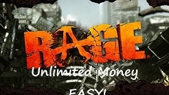RAGE - How to get unlimited money easy!