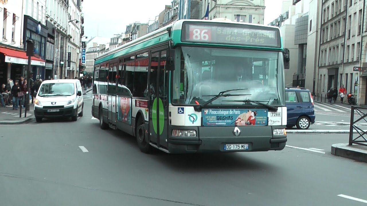 Paris ratp autobus 2014 for Q bus innenarchitektur