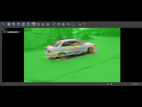 After effects & 3ds max & boujou track motion tutorial part1.