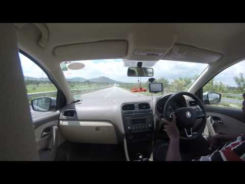 GoPro Skoda Rapid Travels - Bangalore to Anantapur on NH7 - Fast Drive