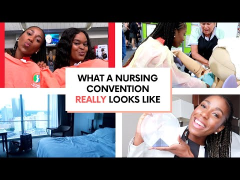 I Attended My 1st Nursing Conference And It Was ALL PAID FOR SIS | VLOG | AWHONN 50th Convention