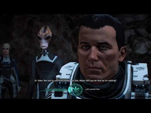 Mass Effect: Andromeda - Saelen Varn confronts Dr. Aden, Ryder rejects kett intelligence