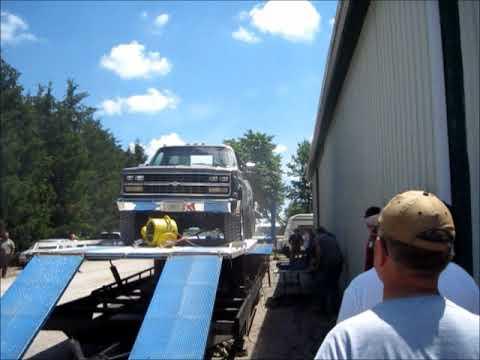 Detroit Diesel 6V53 Powered Chevy!