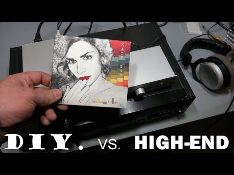 DIY vs. High-end headphone amp TPA6120a2 vs. Musical Fidelity V90-BHA