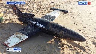 В море под Анапой нашли беспилотник
