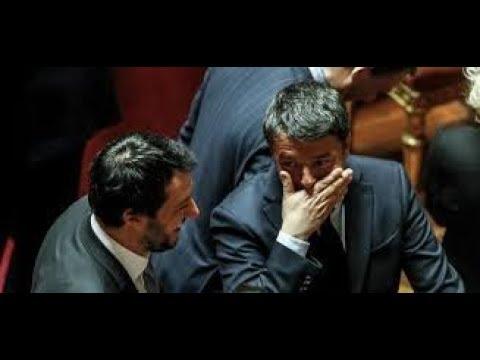 Salvini «Renzi ha ragione, tolga la spina» FI non sta trattando con IV
