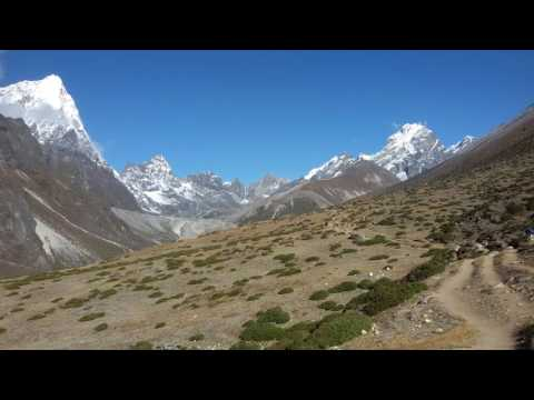 Mountain View with full joy in Nature | Nepal Trekking Area | Beautiful View