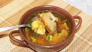 Суп из сушеных белых грибов. Вкусный грибной суп для поста и не только.